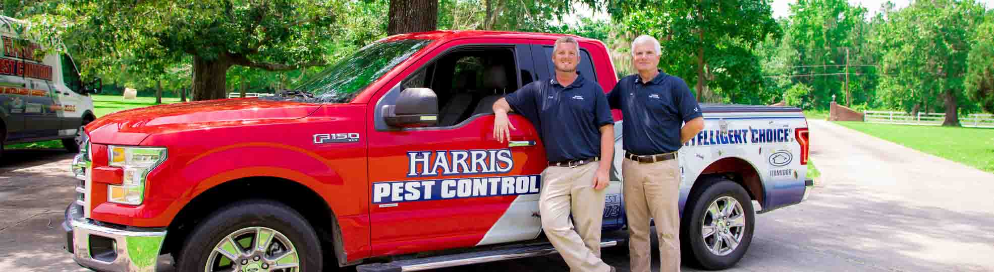 Harris Pest Control Hero Image