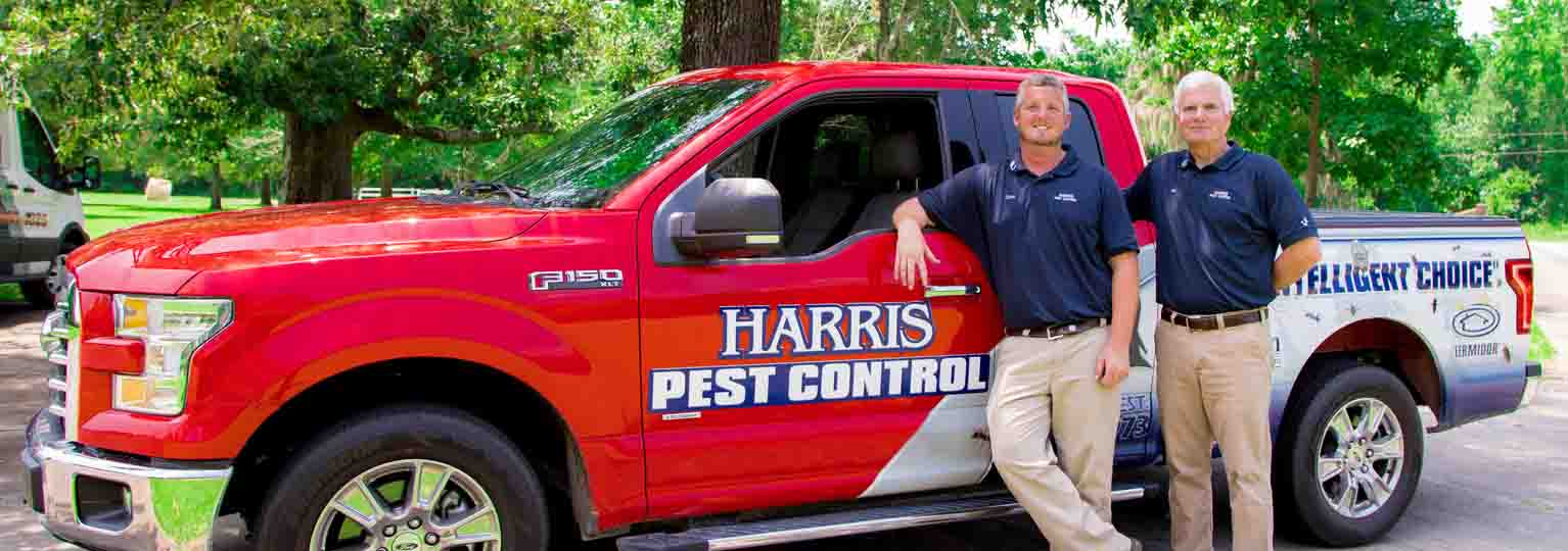 Harris Pest Control Mobile Hero Image